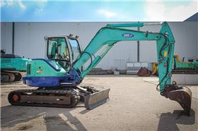IHI 80 NX 3, Excavators, Construction