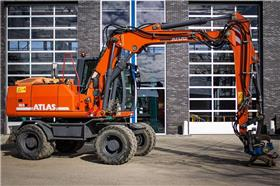 Atlas 160 W, Wheeled Excavators, Construction