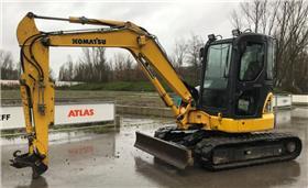 Komatsu PC55MR, Crawler Excavators, Construction