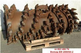 Bomag Freestrommel, Asphalt cold milling machines, Construction