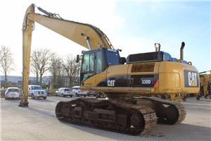 Caterpillar 330D LRE, Rupsgraafmachines, Bouw