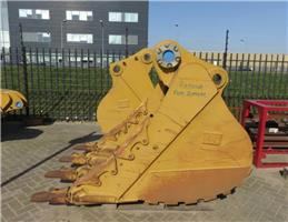 Caterpillar Excavationbucket, Bakken, Bouw