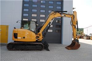 Caterpillar 308DSB, Midigravere 7 - 12t, Anlegg