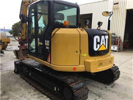 Caterpillar 308E, Midigravere 7 - 12t, Anlegg