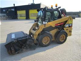 Caterpillar 236 D, Minilæsser - skridstyret, Entreprenør