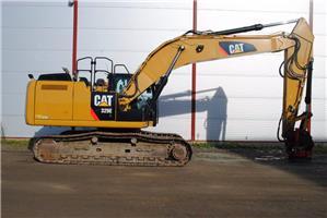 Caterpillar 329E, Beltegraver, Anlegg