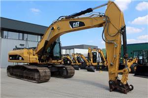 Caterpillar 330DL, Rupsgraafmachines, Bouw