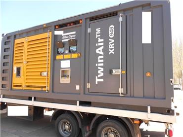 Atlas Copco XRV946, Compressors, Construction