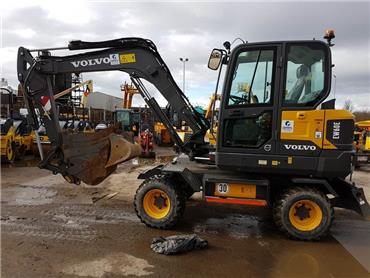 Volvo EW60E, Mini excavators < 7t (Mini diggers), Construction