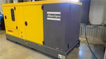 Atlas Copco QES 115, Diesel Generators, Construction