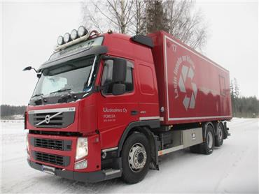 Volvo FM460 6x2 aj.310tkm!!,kippikontilla tai alustana,, Kuorma-autoalustat, Kuljetuskalusto