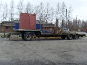 [Other] traktorilavetti vetävällä dollyllä, Muut perävaunut, Maatalous