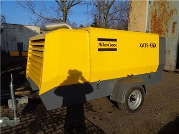 Atlas Copco XATS 377, Compressors, Construction