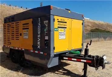 Atlas Copco XRVS 1000 CD iT4, Compressors, Construction