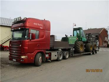 Scania R144 + metsäkone lavetti, Puoliperävaunulavetit, Kuljetuskalusto