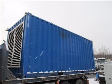 Genesal 500/550kva agrekaatti, Dieselgeneraattorit, Maarakennus