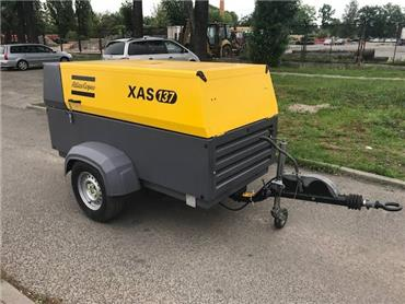 Atlas Copco XAS 137, Compressors, Construction