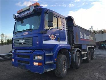 MAN TGA 41.530 8X4, Tippbilar, Transportfordon