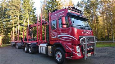 Volvo FH540 6x2 puuauto, Puuautot, Kuljetuskalusto