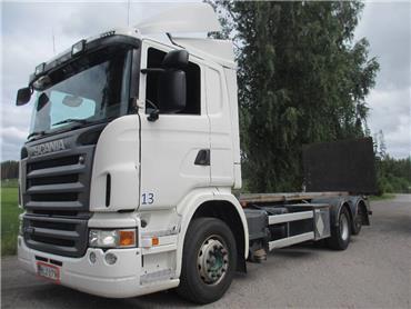 Scania G420 6x2 tasonostolaite+pl-nostin, Kontti-/tasonostoautot, Kuljetuskalusto