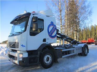 Volvo FE280 vaijerilaite, Vaihtolava-autot, Kuljetuskalusto
