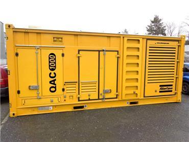 Atlas Copco QAC 1000, Diesel Generators, Construction