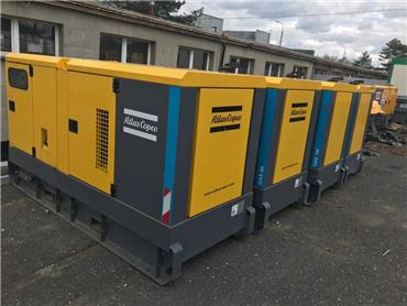 Atlas Copco QAS 80, Diesel Generators, Construction