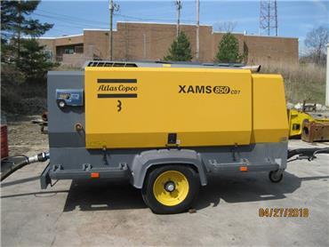 Atlas Copco XAMS 850 CD, Compressors, Construction