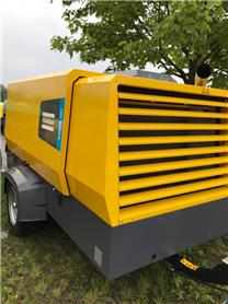 Atlas Copco XAMS 287, Compressors, Construction