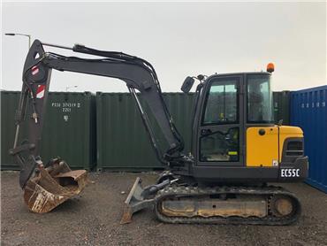 Volvo EC 55 C, Mini excavators < 7t (Mini diggers), Construction