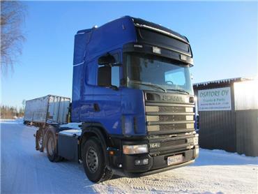 Scania R164 6x2 veturi, Vetopöytäautot, Kuljetuskalusto
