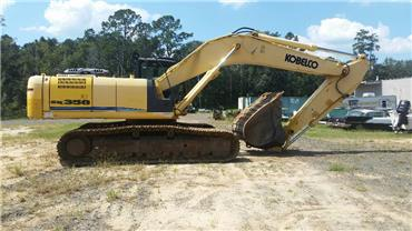 Kobelco SK 350 LC-8, Crawler Excavators, Construction Equipment