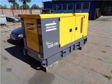 Atlas Copco QAS 100, Diesel Generators, Construction