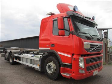 Volvo FM460 6x2 hydr.tasonostolaite, Kontti-/tasonostoautot, Kuljetuskalusto