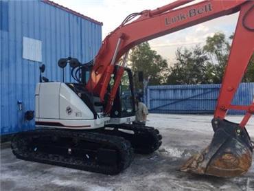 Link-Belt 145 X3 Spin Ace, Crawler Excavators, Construction Equipment