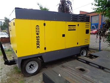 Atlas Copco XRHS 366, Compressors, Construction