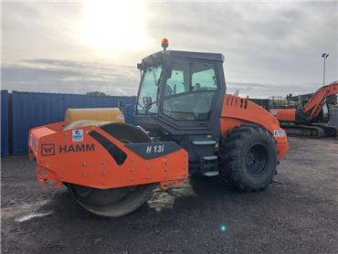 Hamm H13 i, Single drum rollers, Construction