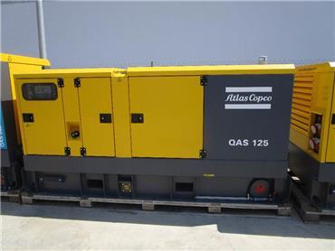 Atlas Copco QAS 125, Diesel Generators, Construction