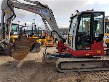 Takeuchi TB260, Mini excavators < 7t (Mini diggers), Construction