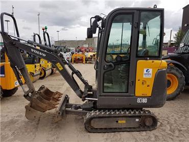 Volvo EC18D, Mini excavators < 7t (Mini diggers), Construction