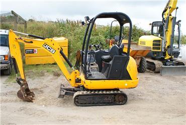 JCB 8014, Mini excavators < 7t (Mini diggers), Construction
