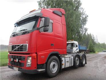 Volvo FH13 väliteli veturi, Vetopöytäautot, Kuljetuskalusto