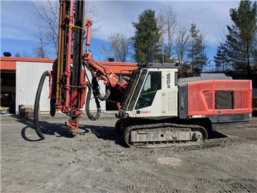 Sandvik DP 1500 i, Surface drill rigs, Construction Equipment