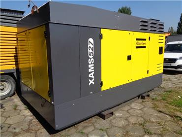 Atlas Copco XAMS 527, Compressors, Construction