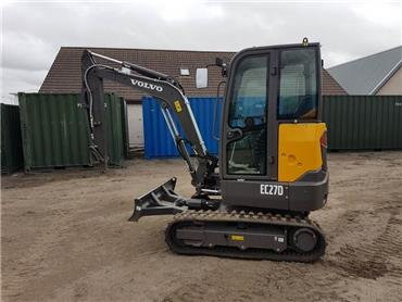 Volvo EC27D, Mini excavators < 7t (Mini diggers), Construction