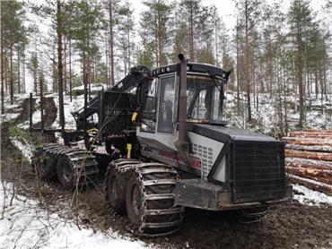 Logset 8F, Kuormatraktorit, Metsäkoneet