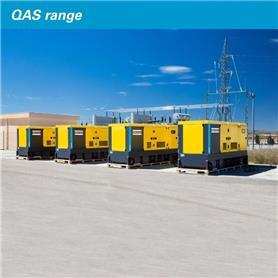 Atlas Copco QAS 5 80 KVA, Diesel Generators, Construction