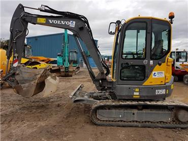Volvo ECR58D, Mini excavators < 7t (Mini diggers), Construction