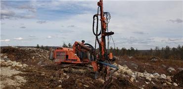 Tamrock RANGER 700, Surface drill rigs, Construction Equipment