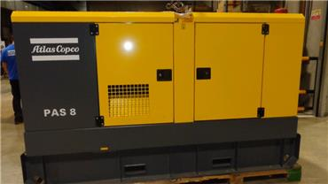 Atlas Copco PAS 8 KDS3A, Waterpumps, Construction